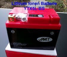 Lithium Ion Battery HJTX5L-FP, Replacement for YTX4L-BS, YTX5L-BS slightly Power