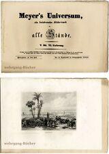 Meyer's Universum: V. Bd., VI. Lieferung. Mit 4 Stahlstichtafeln von 1838