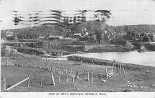 Republic Michigan Smith Mountain Scenic View Antique Postcard K30791
