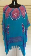 New  Sequined Kaftan Top Casual or dressy plus size 24-34 stunning colours