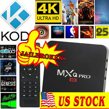 MXQ Pro 4K S905 64-bit Smart TV Box Show Box PPV Movies Shows Sport Live TV