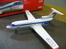 1/200 Herpa Aeroflot Yakovlev Yak-40 557290