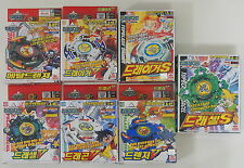 Takara Beyblade lot of 7 different A-3 -4 -46 -47 -48 -49 -57 dragon driger more