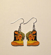 Pocahontas Earrings Meeko Raccoon Charms