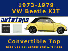 1973-1979 VW Beetle Convertible Top KIT