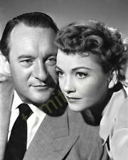 Anne Baxter with George Sanders 8x10 Photo 017