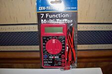 7 Function Multimeter Multi-Tester Auto Electrical Amps Volts OhmsTool Meter