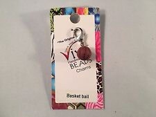 Viva Beads Clay Beads Basketball Charm