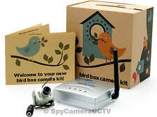 Wireless Bird Box Camera and Receiver with Night Vision – European Power Supply