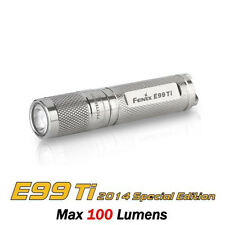 Fenix E99 Ti Titanium Limited Edition Cree XP-E2 LED AAA Flashlight Torch
