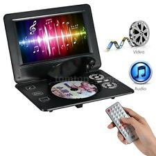 "9"" Portable Rotatable Screen DVD Player with U Drive Game FM TV USB MC Card Q7BK"
