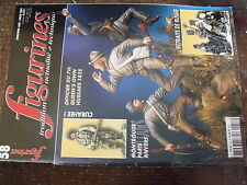 $$q Revue figurines N°58 Retraite de Russie  Officier du 7th hussars  Para US 44
