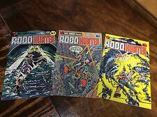 RoboHunter #1-3 (Eagle Comics/Judge Dredd/091486) complete set lot of 3