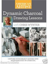 NEW! Dynamic Charcoal Drawing Lessons With Chris Wynter [DVD]