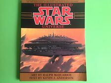 THE ILLUSTRATED STAR WARS UNIVERSE BOOK BY MCQUARRIE ANDERSON