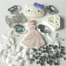 R20 3D DIY Mobile Cell Phone Case Alloy Crystal Deco Den Princess Kit