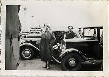 PHOTO ANCIENNE - VINTAGE SNAPSHOT - VOITURE AUTOMOBILE PEUGEOT BATEAU - CAR 1936