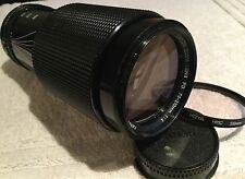 CANON FD 70-210mm F/4 MACRO ZOOM LENS for FD MOUNT in GOOD CONDITION