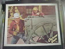 OUTLAW GOLD, orig 1950 LC #6 [Johnny Mack Brown holds Colt '45]