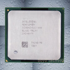 Intel Pentium 4 HT CPU Processor 3.2 GHz 800 MHz Socket 478/N SL6WG SL6WE