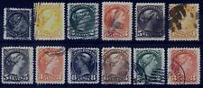 Canada Small Queen selection - Large Margins (Lot 4) - 12 Stamps - Very Fine