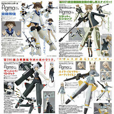 MISB Max Factory Figma Strike Witches Set (No.074, 106, 142 & 149)