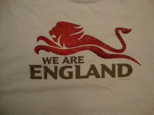 """We Are England"" Sports Football Cricket White T Shirt XL"