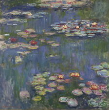 Claude Monet Water Lilies Giclee Canvas Print Paintings Poster Reproduction Copy