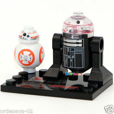 Custom Star Wars 7 VII The Force Awakens R5D4 & BB8 Minifigures Brick BB-8 Lego