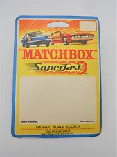 "MATCHBOX MEGA RARE ""Artists PROOF pre blister di produzione"" con ""LOTUS"