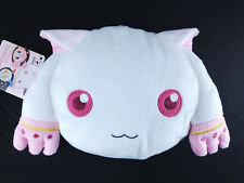 Puella Magi Madoka Magica Plush Doll Face Pouch official Banpresto Kyubey