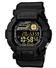 CASIO GD-350-1B G-SHOCK Digital Vibration Alert Negative Display Resin Black