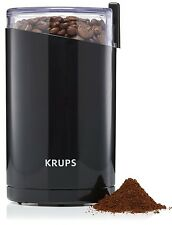KRUPS F203 Electric Spice and Coffee Grinder with Stainless Steel Blades NEW
