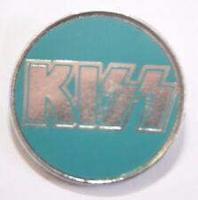 "KISS Old Vtg 70`s/80`s Metal Pin Badge (25mm-1"") not shirt lp cd patch concert"