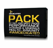 Dedicated Pack 25 Servings Multi Vitamins Immune Support Bodybuilding Supplement