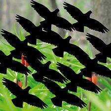 12 Stück 10cm Vogel Aufkleber Tattoo die cut Deko Fenster Scheiben Schutz Folie