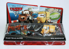 CARS 2 - RACE TEAM MATER & SAL MACHIANI - Mattel Disney Pixar