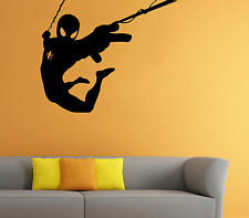 Spider Man Wall Decal Comics Super Hero Vinyl Sticker Home Wall Decor (016sm)