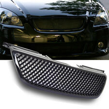 Fit For 2002-2004 Altima Front Black Mesh Hood Grill Grille New