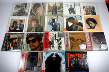 BOB DYLAN ~ JAPAN MINI LP CD SET OF 18 ALBUMS, ORIGINAL, RARE, OOP