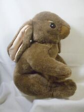 "Commonwealth Bunny Rabbit Plush JUMBO 17"" Brown Stuffed Furry Animal Toy"