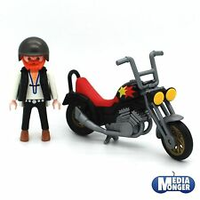Playmobil ® motocicleta | Chopper | Easy Rider | bike incl. figura | rocker de 3831