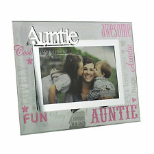 Glass Photo Frame Special Auntie Birthday Gift Ideas For Her & Sisters