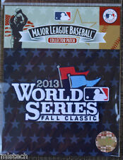 MLB Baseball Patch Fall Classics World Series 2013 Boston Red Sox