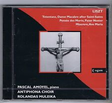 PASCAL AMOYEL ANTIPHONA CHOIR CD NEW LISZT DE PROFUNDIS