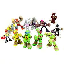 Turtles Figures Teenage Mutant Ninja TMNT Action Toys 5cm - 6cm 12 Pcs