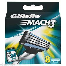 Gillette Mach 3 Razor Blades x 8
