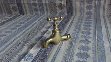 Antique French Vintage Solid Brass Quality Tap Good Condition