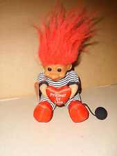 "Troll Doll 6"" Russ Plush Prisoner of Love Vinyl Face Soft Body NWT"