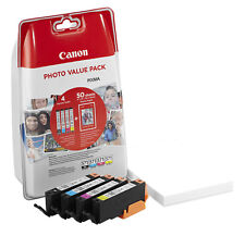 Canon CLI-571 Photo Value Pack C/M/Y/BK inkl. PP201 Fotopapier MG 5750/6850/7750